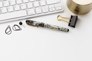 Stock Photo Grey & Black Desktop 23