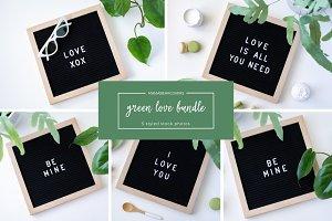 Valentine's Day   Green Love