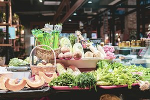 public city market store with organi