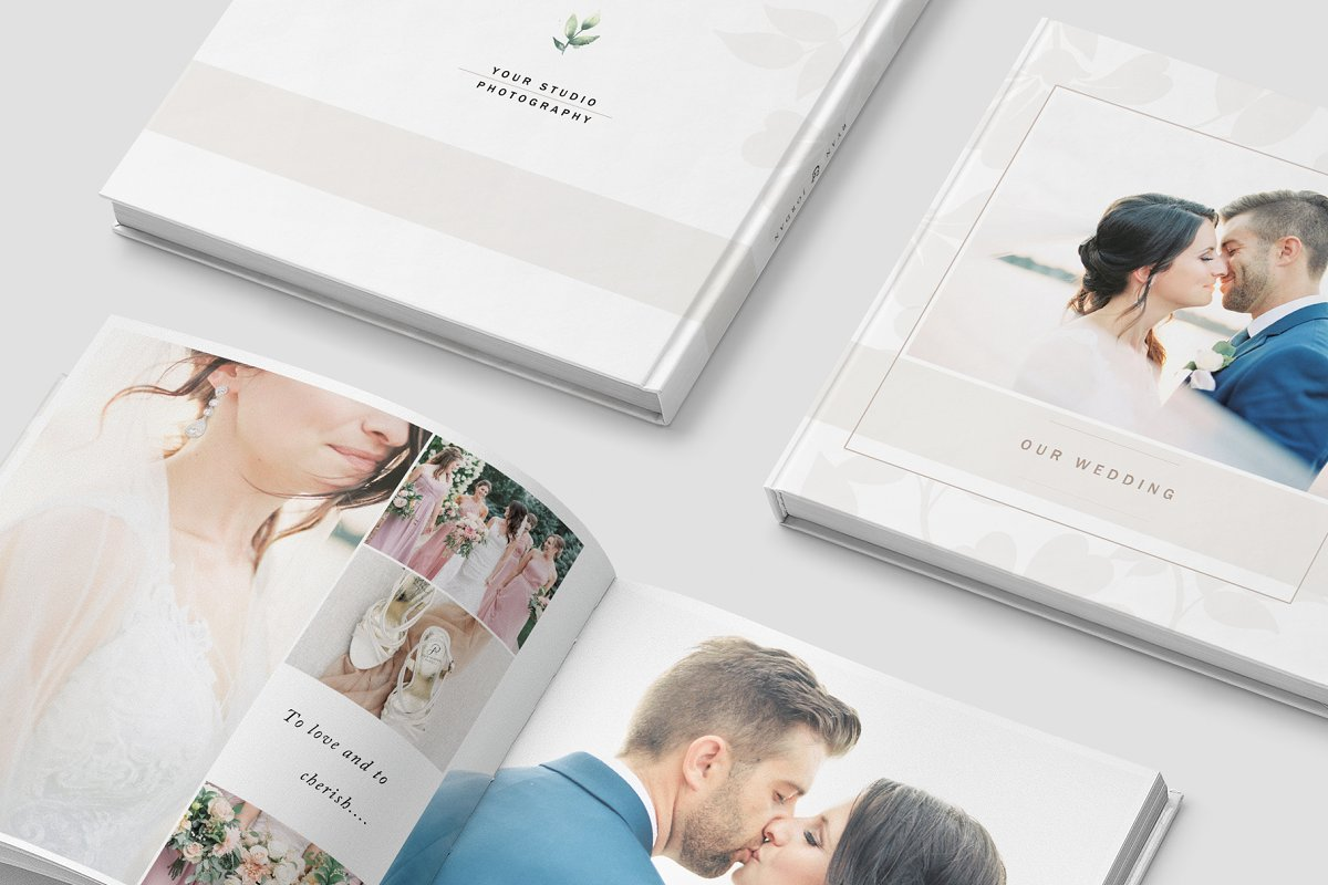Wedding Photo Album Template ~ Magazine Templates ~ Creative