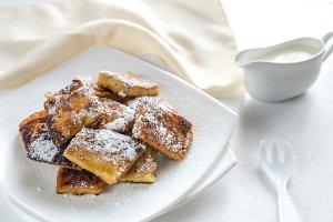 Kaiserschmarrn - austrian pancakes