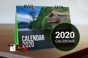 Desk Calendar for 2020 V3