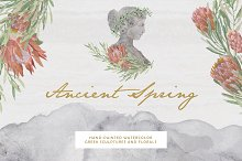 Ancient Spring Collection by  in Illustrations