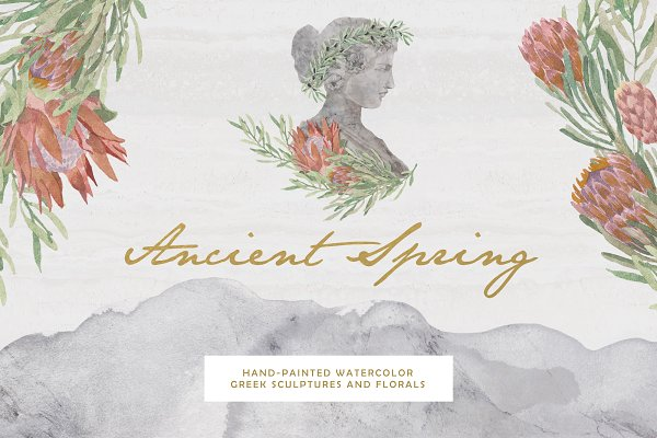 Illustrations: Elisa Ursa - Ancient Spring Collection