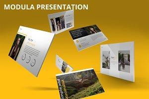 Modula - Keynote Template