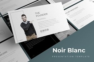 Noir Blanc - Keynote Template