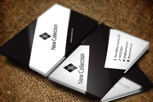 New Collection Business Card