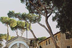 Beautiful sunny day in Roma
