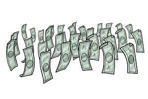 money dollars cash