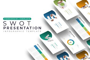 SWOT - Infographic Template