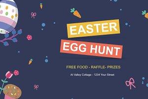 Happy Easter Egg Hunt Kids