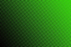 Background with black spots green ba