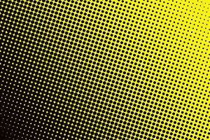 Background with black spots yellow