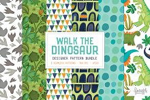 WALK THE DINOSAUR PATTERN BUNDLE