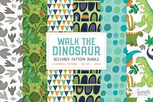 WALK THE DINOSAUR PATTERN BUNDLE