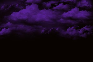 Lilac background clouds