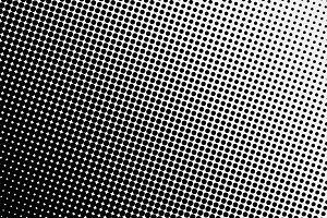 Background of black dots on white