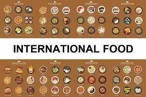 International food set
