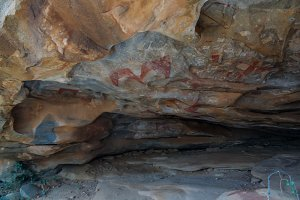 Cave paintings and petroglyphs Laas