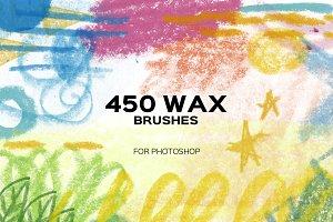 450 WAX BRUSHES. PS Hi-Res