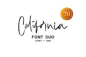 California Vibe // Font Duo