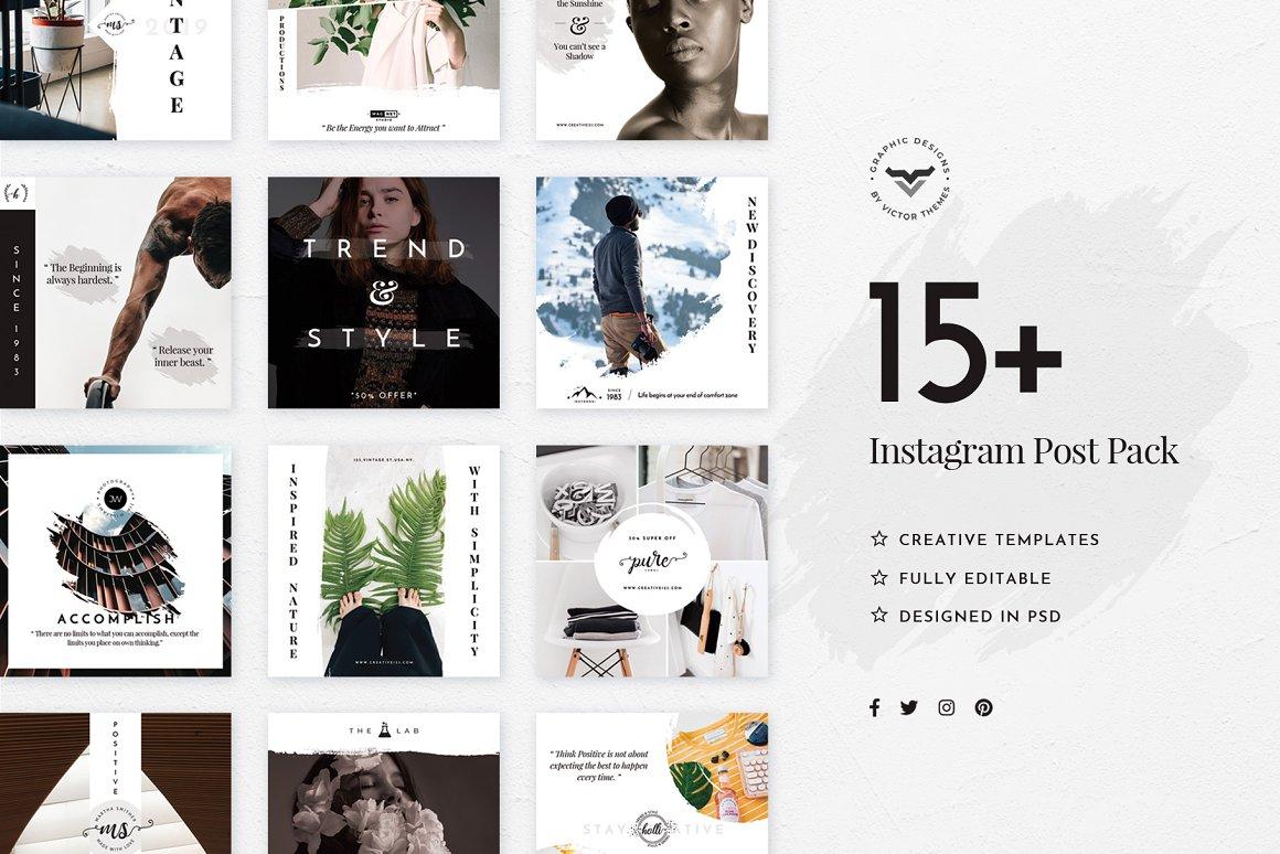 Stylish Instagram Stories Template