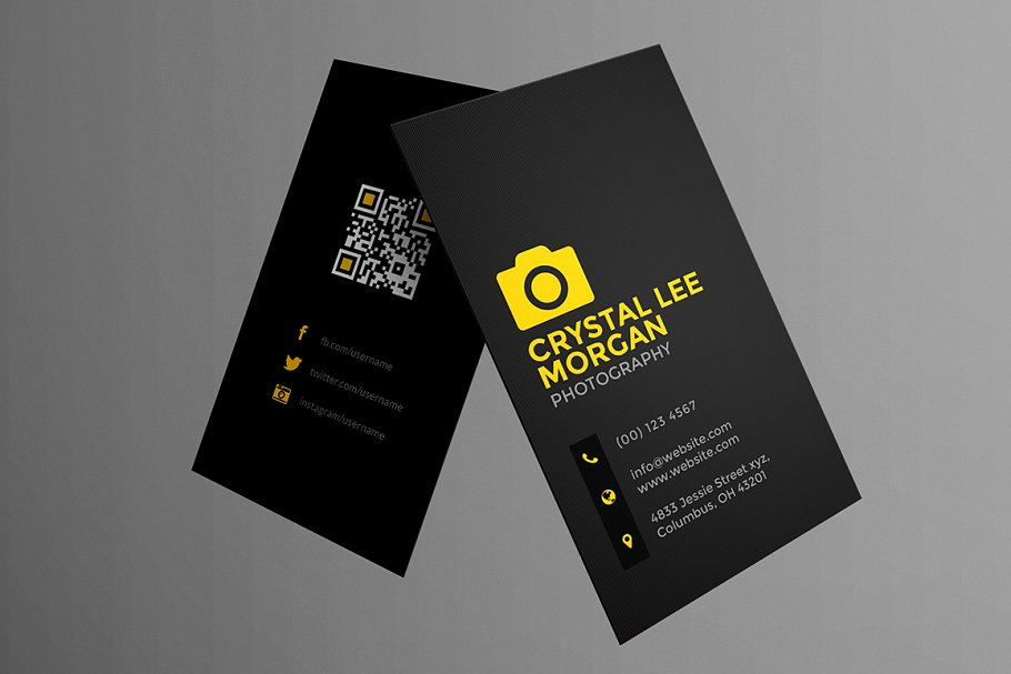 Photography Business Card - Business Card Templates | Creative ...