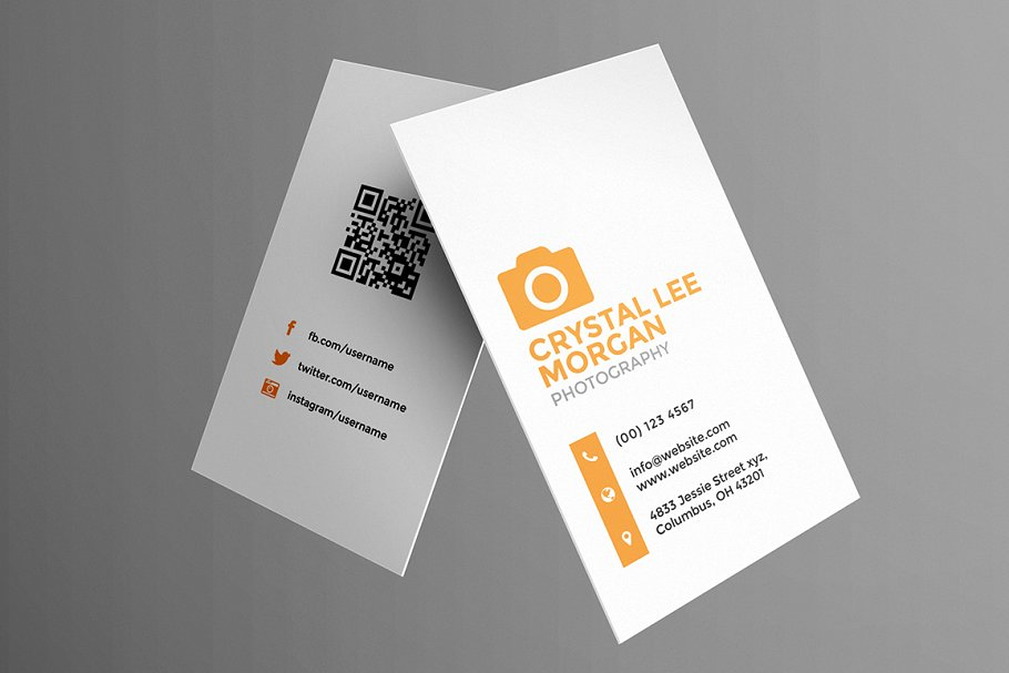 Photography business card business card templates creative next accmission Choice Image