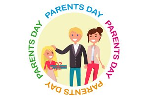 Parents' Day Banner with Colourful
