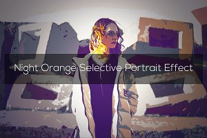 Night Orange Selective Effect