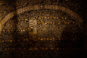 Interior of Chapel of the Bones in E