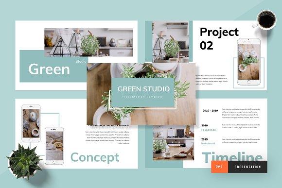 Green - Powerpoint Presentation