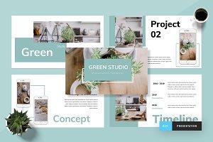 Green - Keynote Presentation