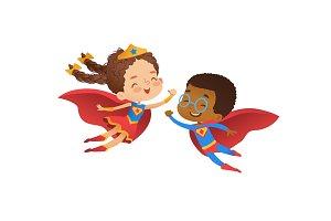Superhero Kindergarten Party Kids