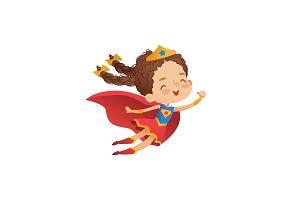 Superhero Cute Girl