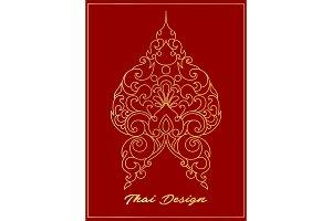Thai design art element in