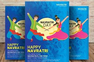 Happy Navratri Flyer