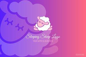 Sleeping Sheep Logotype