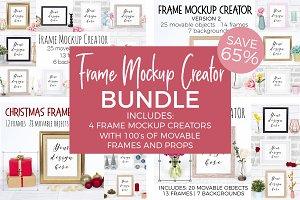 Frame Mockup Creator Bundle