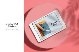 Minimal iPad Mockup
