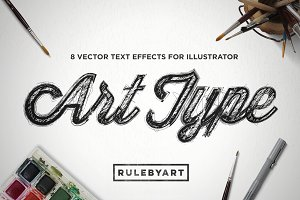 ArtType - Vector Type Effect