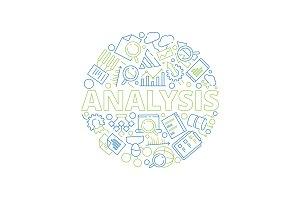 Data management concept. Data
