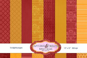 Brilliant Jewels Paper Pack-16