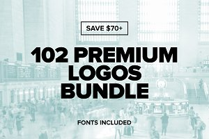 102 Premium Logos Bundle