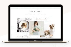 Foodie Blog eCommerce Genesis Child