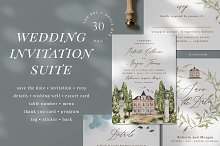 In the shadow of cypresses by  in Invitations
