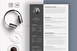 Resume/CV (4 Page)