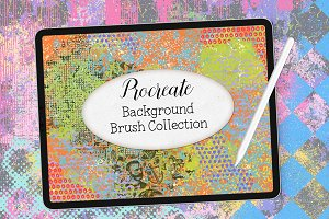 Procreate Background Brushes