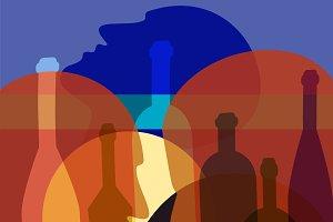 Alcoholism as a disease, problem.