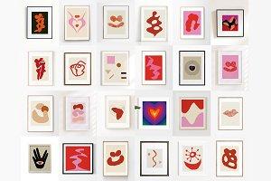 24 Printable Valentine Prints Bundle